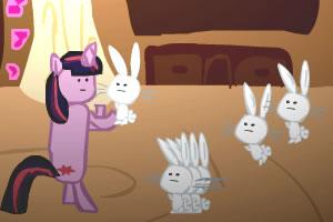 攻击入侵兔