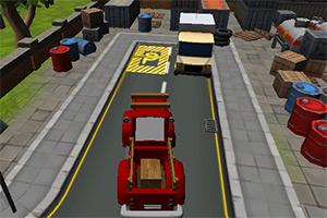 小货车城市停车
