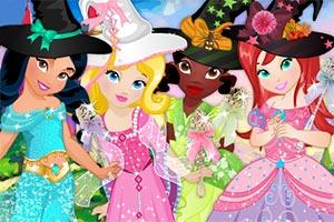 迪士尼公主过万圣节