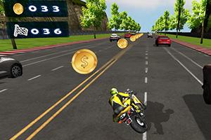 3D摩托模拟驾驶