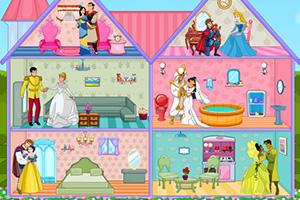 迪士尼公主的婚房