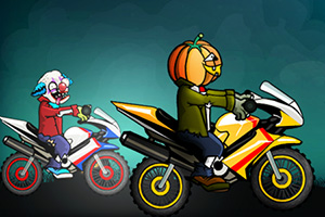 万圣节摩托大赛