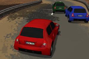 3D山间公路飚车