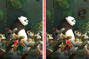 功夫熊猫3找茬