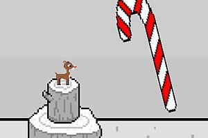 圣诞节敲木桩