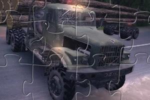 运木汽车拼图