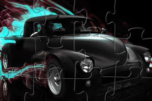黑骑士汽车拼图