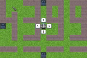 坦克迷宫射击战