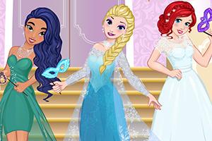 迪士尼公主的幻想