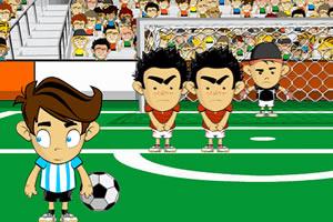 疯狂的足球射门
