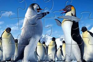 快乐的企鹅拼图