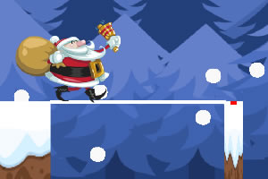圣诞老公公过桥