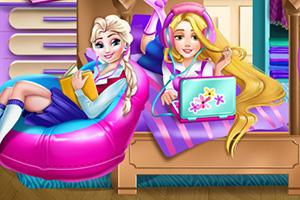 迪士尼公主宿舍