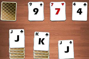 三段式纸牌接龙