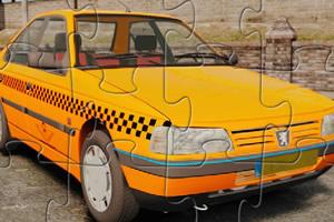 标致出租车拼图