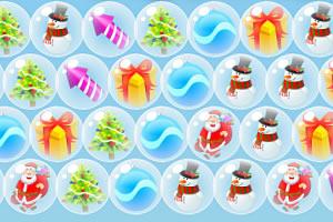 圣诞节礼物泡泡龙