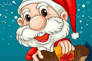 圣诞老人吃豆豆