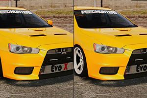 三菱汽车找不同