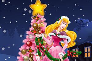 装饰漂亮的圣诞树