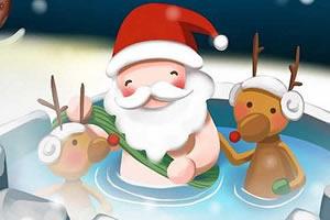圣诞节彩色画板