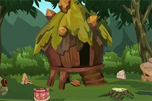 森林寻找金杯逃脱