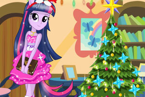 小马女孩过圣诞节