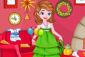 索菲亚的圣诞节清理