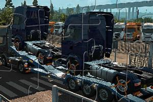 拖车和卡车拼图
