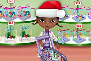 玩具小医生圣诞节购物