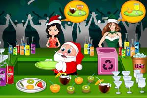 圣诞老人果汁店