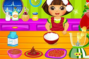 朵拉圣诞烹饪比赛