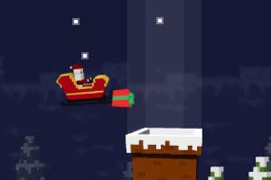圣诞老人散礼物