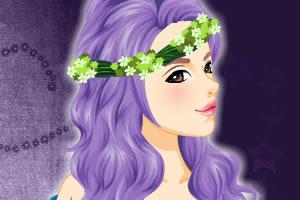美丽童话发型