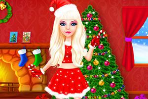 米娅的圣诞装扮