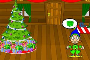 圣诞节木屋逃脱
