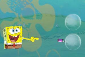 3D海绵宝宝打泡泡