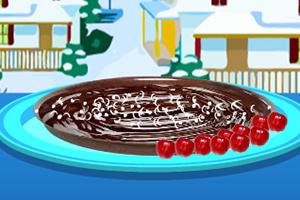 香浓巧克力樱桃蛋糕