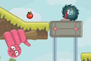 刺猬找苹果