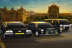 3D印度出租车停车