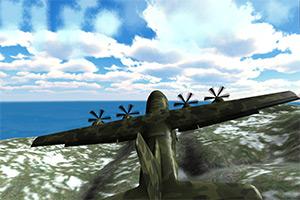 模拟驾驶战斗机