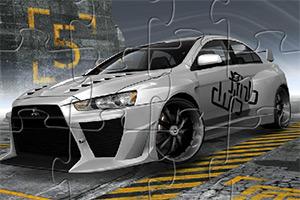三菱汽车拼图