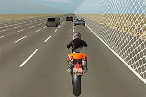 摩托车公路狂飙