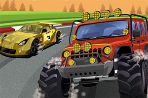 随机汽车竞速赛