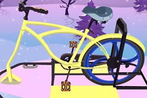 制作冰上自行车