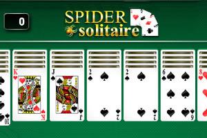 模式蜘蛛纸牌