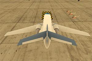 3D飞机机场停靠