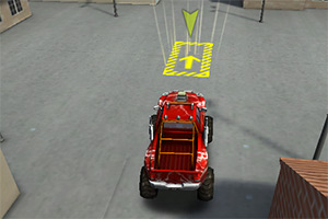 3D怪物卡车停靠