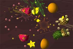 3D快刀切水果