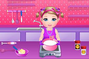 吉姆宝贝学做饭
