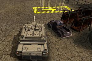 3D主战坦克停靠